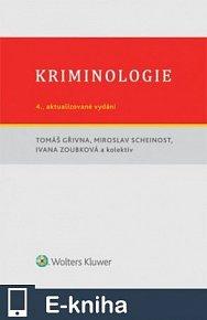 Kriminologie - 4., aktualizované vydání (E-KNIHA)