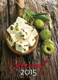 Kalendář nástěnný 2015 - Gourmet
