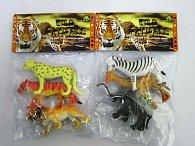 Divoké zvířata 3 ks