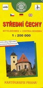 Střední Čechy 1:200 000