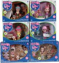 Littlest Pet Shop Blythe panenka se zvířatkem a doplňky