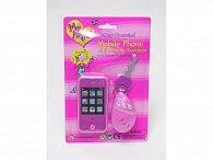 Mobil PDA s ovládáním na auto a klíčem holčičí
