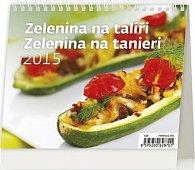 Kalendář stolní 2015 - MiniMax Zelenina na talíři