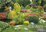 Kalendář 2014 - Gardens - nástěnný