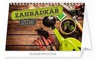 Kalendář stolní 2016 - Zahrádkář,  23,1 x 14,5 cm