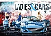Kalendář nástěnný 2018 - Ladies & Cars