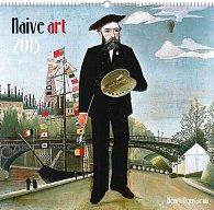Kalendář 2013 nástěnný - Naivní umění Henri Rousseau, 48 x 46 cm
