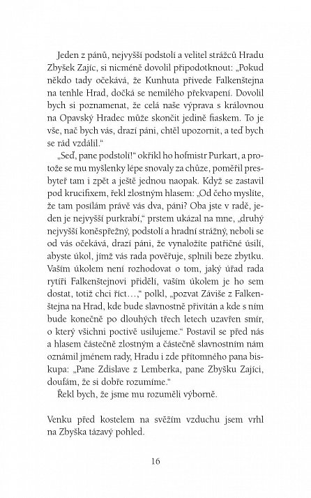 Náhled Milenec královny vdovy - Vzestup a pád Záviše z Falkenštejna