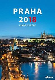 Kalendář nástěnný 2018 - Praha/střední formát