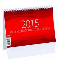 Mini čtrnáctidenní kalendář - stolní kalendář 2015