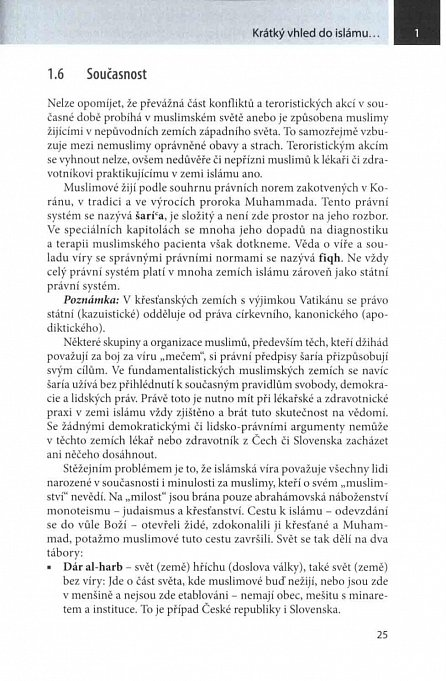 Náhled Muslimský pacient - principy diagnostiky, terapie a komunikace