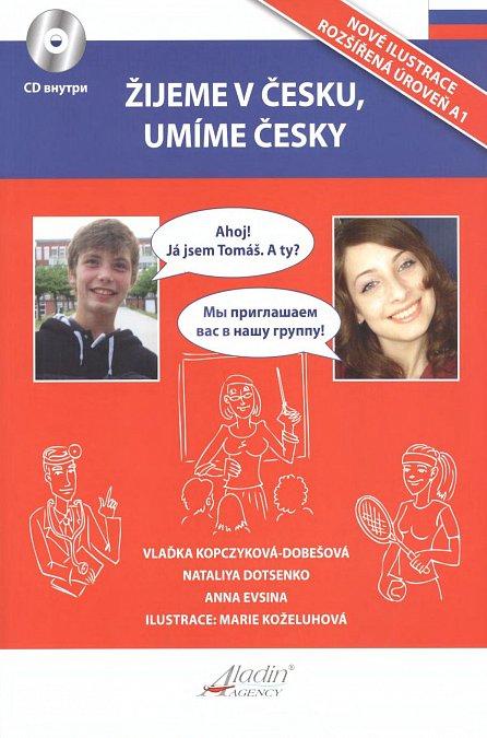 Náhled Žijeme v česku, umíme česky + CD / RJ