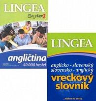 Komplet 2 ks EasyLex2 Angličtina + Anglicko-slovenský slovensko anglický slovník