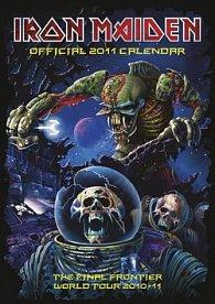 Iron Maiden 2011 - nástěnný kalendář