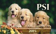 Psi - stolní kalendář 2015