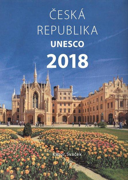 Náhled Kalendář nástěnný 2018 - ČR UNESCO/střední formát