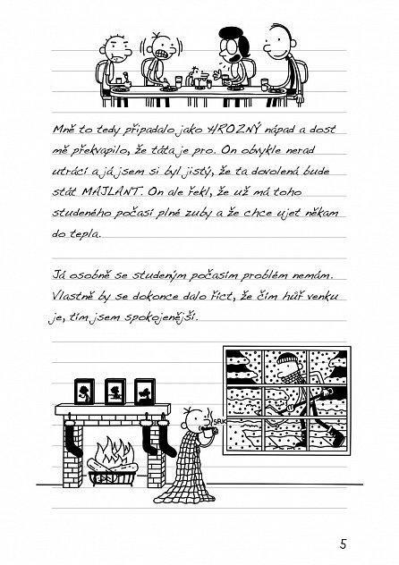 Náhled Deník malého poseroutky 12 - Výprava za teplem