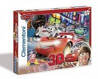 Puzzle 3D Auta 2 104 dílků