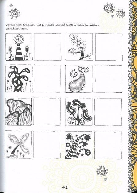 Náhled Umění Zentangle