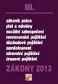 Zákony 2013 III.