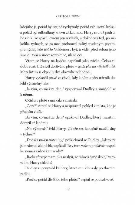 Náhled Harry Potter a Tajemná komnata