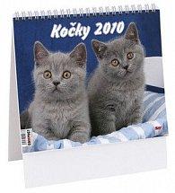 Kočky 2010 - stolní kalendář