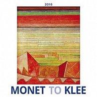 Monet to Klee 2016 - nástěnný kalendář