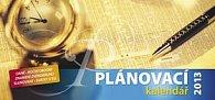 Plánovací kalendář - stolní kalendář 2012