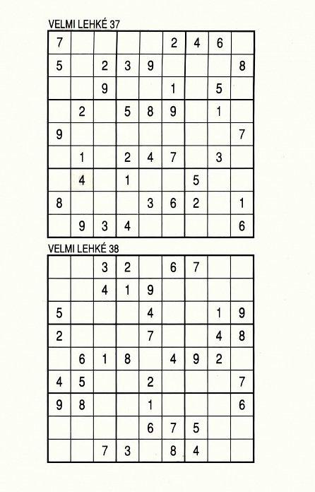 Náhled Sudoku 18 pro celou rodinu