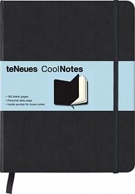 Zápisník CoolNotes Black/Black XL