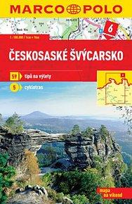 Českosaské Švýcarsko 6 - mapa 1:100 000