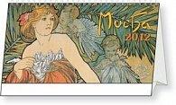 Kalendář stolní  2012 - Alfons Mucha, 30 x16 cm