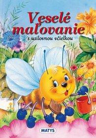 Veselé maľovanie s usilovnou včielkou
