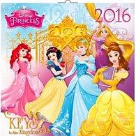 Kalendář nástěnný 2016 - W. D. Princezny, poznámkový  30 x 30 cm