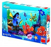 Puzzle 66 dílků Nemo