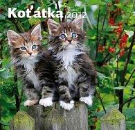 Koťátka 2012 - nástěnný kalendář