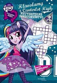 My Little Pony Hlavolamy  z Canterlot High Neuveriteľné dobrodružstvo