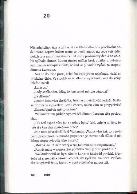 Náhled Ruka / Wallanderův svět