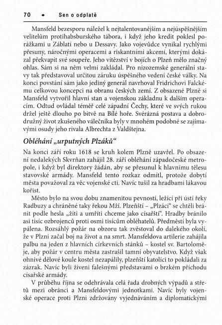 Náhled Sen o odplatě - Dramata třicetileté války