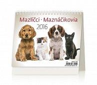 Kalendář stolní 2016 - MiniMax - Mazlíčci