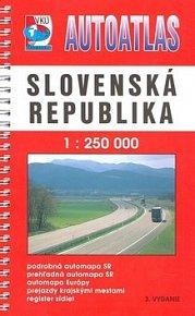 Autoatlas Slovenská republika 1 : 250 000