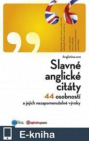 Slavné anglické citáty (E-KNIHA)
