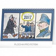 Kalendář stolní 2017 - Josef Lada/Švejk