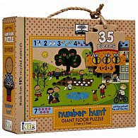 Number Hunt Giant Floor Puzzle