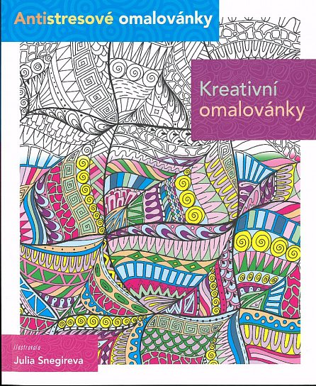 Náhled Kreativní omalovánky - Antistresové omalovánky