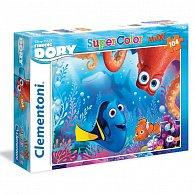 Puzzle Supercolor Hledá se Dory 104 dílků