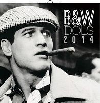 Kalendář 2014 - B&W Idols - nástěnný poznámkový (ANG, NĚM, FRA, ITA, ŠPA, HOL)