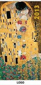 Kalendář 2013 nástěnný - Gustav Klimt, 33 x 64 cm
