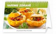 Kalendář stolní 2016 - Vaříme zdravě,  23,1 x 14,5 cm