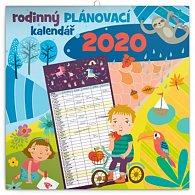 Kalendář nástěnný 2020 - Rodinný plánovací, 30 × 30 cm